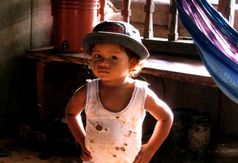 Child with Holy Shirt El Gayo