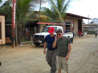Tim and David Walking
