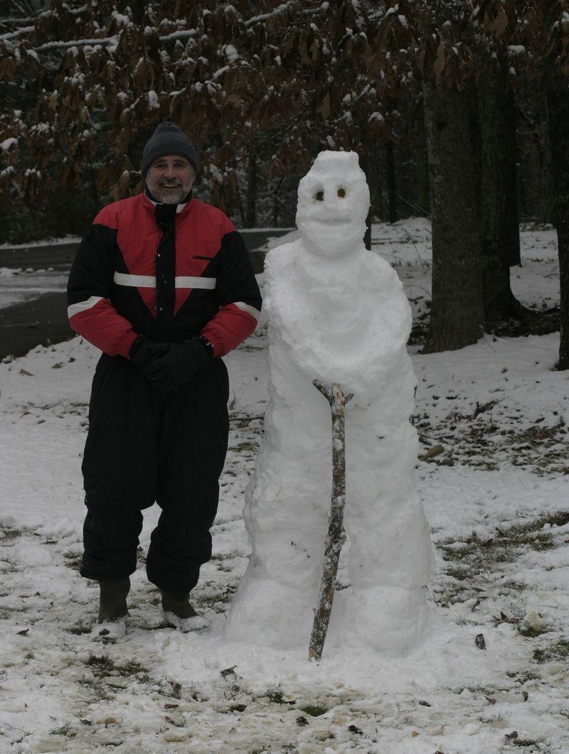 Poop eyed snow manr1