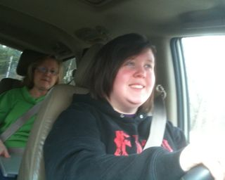 Brittany driving