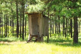 Off Ground outhouse