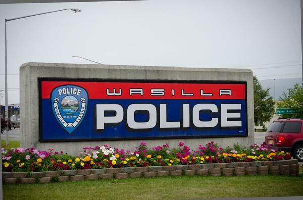 Wasilla Police Sign