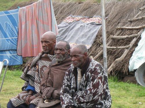 Three Older Men