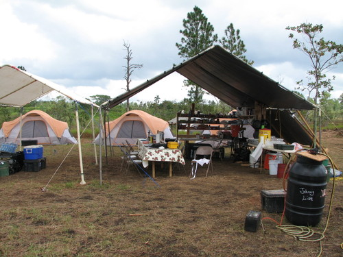 Nicaragua Sawmill 2008 : Cook Tent Dining Area